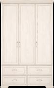 Шкаф для одежды без зеркал 3-х дв Венеция 1 бодега