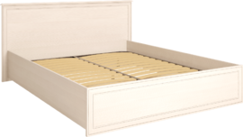 Кровать двуспальная 1400 мм с ортопедическим основанием Венеция 8 бодега