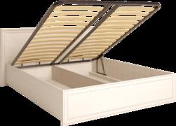 Кровать двуспальная 1600 мм с подъемным механизмом Венеция 5 бодега