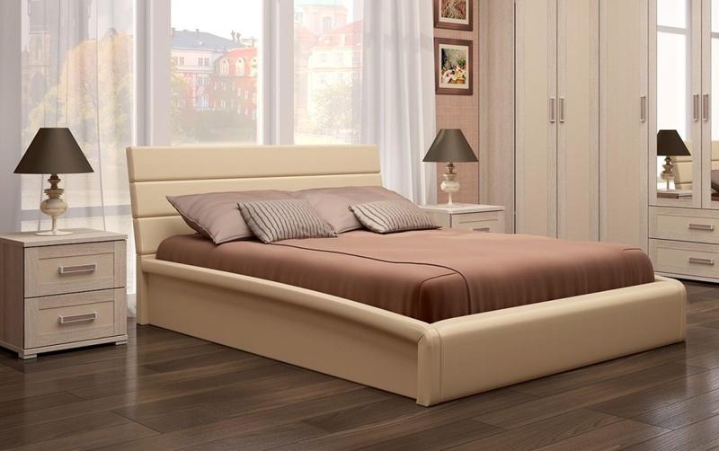 Кровать интерьерная Мальта с подъемным механизмом 1400*2000