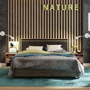 Кровать Люкс с подъемным механизмом Натура 307