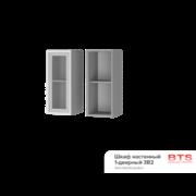 Шкаф настенный 1-дверный со стеклом 3В2 ТН