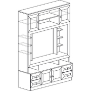 Шкаф многоцелевой 603 Инна