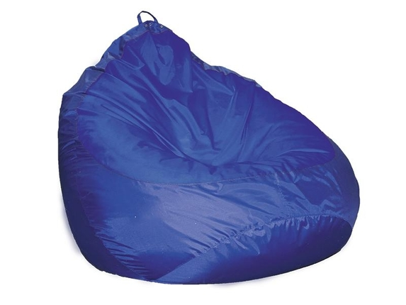 Пуф Груша-2 оксфорд 240 синий