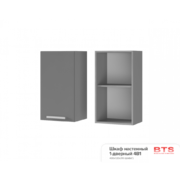 Шкаф настенный 1-дверный 4В1 ТН