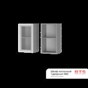 Шкаф настенный 1-дверный со стеклом 4В2 ТН