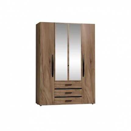 Шкаф для одежды и белья Натура 555
