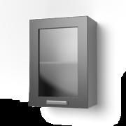 Навесной шкаф 500 со стеклом 5ВС ЛБДП