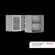 Шкаф настенный угловой со стеклом 6УВ2 ТН