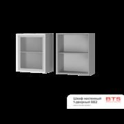 Шкаф настенный 1-дверный со стеклом 6В2 ТН