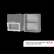 Шкаф настенный с дверями горизонтальными 6В3 ТН