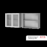 Шкаф настенный 2-дверный со стеклом 8В2 ТН
