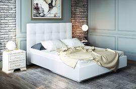 Кровать интерьерная с латами Сонум найс вайт