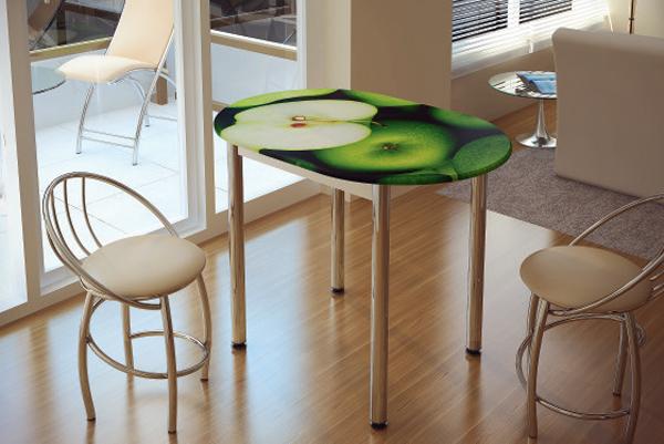 Стол обеденный Зеленое Яблоко