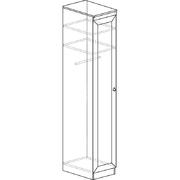 Шкаф для одежды 614 Инна