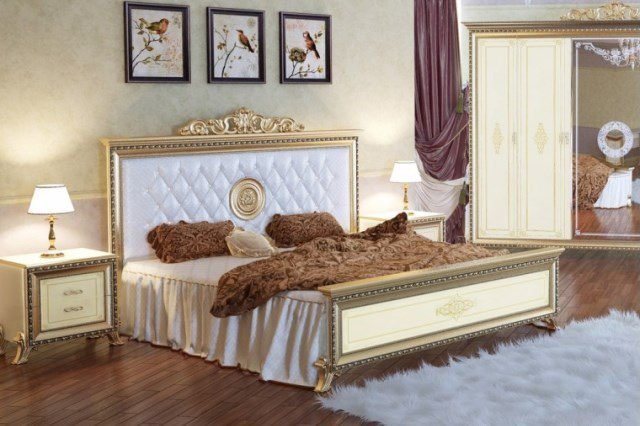 Кровать СВ-04 Версаль мягкое изголовье