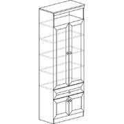 Шкаф для книг 611 Инна