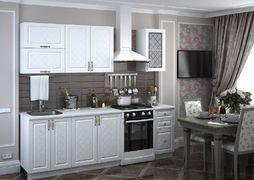 Кухня Модена модульная белая