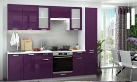 Модульная кухня Глория баклажан