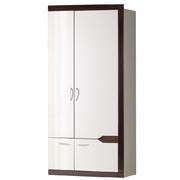 Шкаф для платья и белья 2-дв Ронда 318