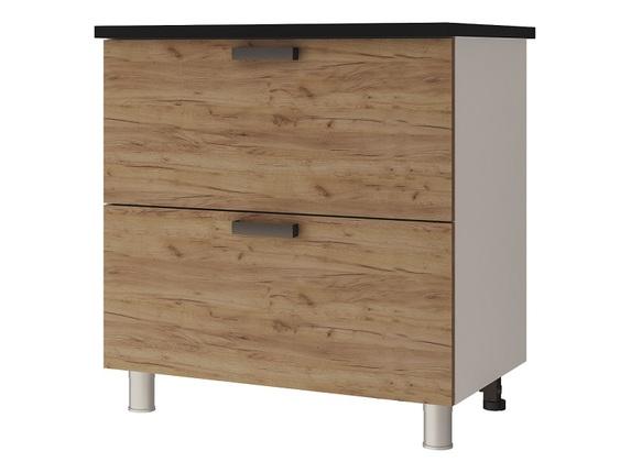 Шкаф-стол с 2-мя ящиками 8Р2 Крафт