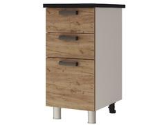 Шкаф-стол с 3-мя ящиками 4Р3 Крафт