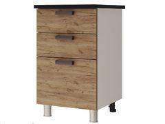 Шкаф-стол с 3-мя ящиками 5Р3 Крафт