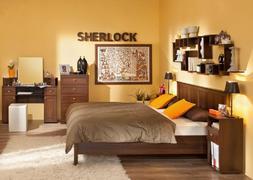 Спальний гарнитур Шерлок орех