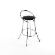 Барный стул Фуриант черный-040
