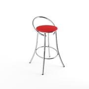 Барный стул Фуриант красный матовый-803м