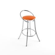 Барный стул Фуриант оранжевый-843