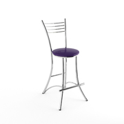 Стул барный Квинтет фиолетовый-873