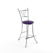 Барный стул Трилогия фиолетовый-873