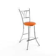 Барный стул Трилогия оранжевый-843