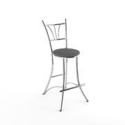 Барный стул Трилогия серый матовый-800м