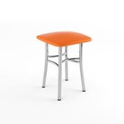 Табурет Классик оранжевый-843
