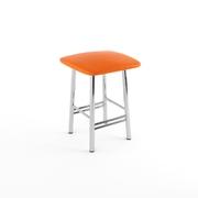 Табурет Кухонный оранжевый-843