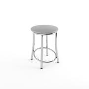 Табурет Лира хром серый-700