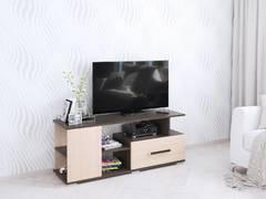 Тумба ТВ Парус-4 венге/дуб молочный