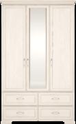 Шкаф для одежды с зеркалом 3-х дв Венеция 1 бодега