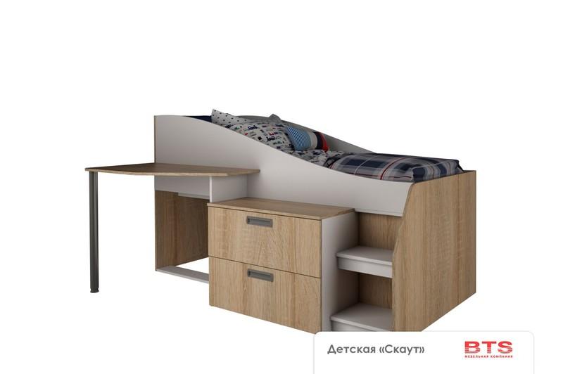 Детская кровать Скаут - фото товара