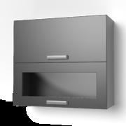 Навесной шкаф 800 горизонтальный комбинированный 8ВК ЛБДП