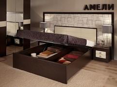 Кровать с подъемным механизмом Амели Люкс