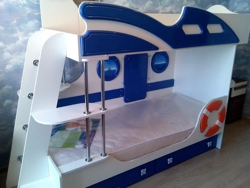 Кровать 2-х ярусная Яхта-2 Парус - фото товара