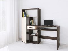 Компьютерный стол Квартет-8 венге/дуб молочный