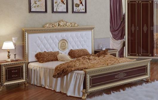 Кровать СВ-03 Версаль мягкое изголовье
