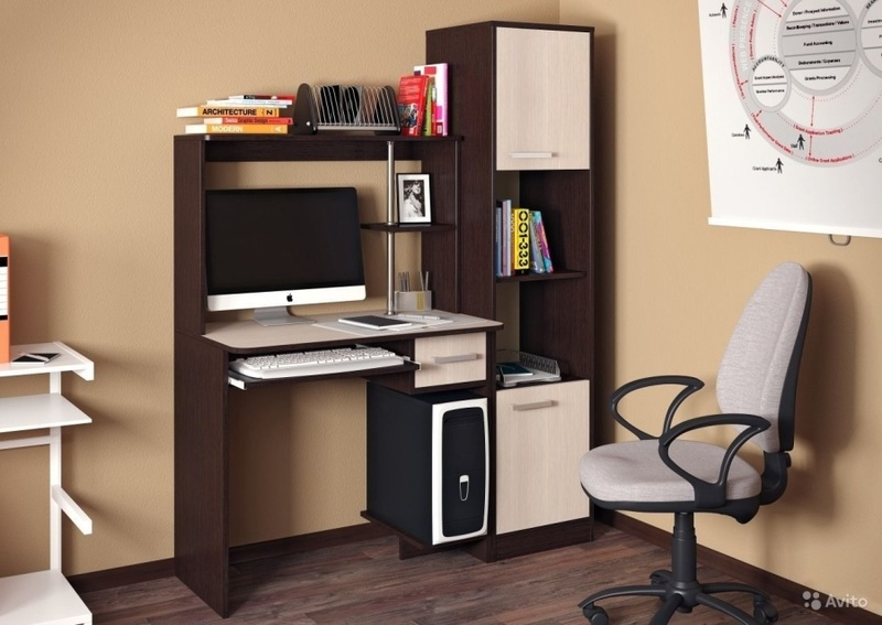 Компьютерный стол Дебют Пенал - фото товара