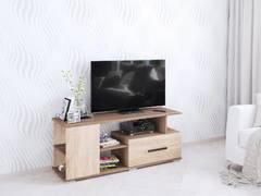 Тумба ТВ Парус-4 дуб сонома/ясень шимо