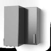 Угловой навесной шкаф 550х550 угол прямой УВП ЛБДП